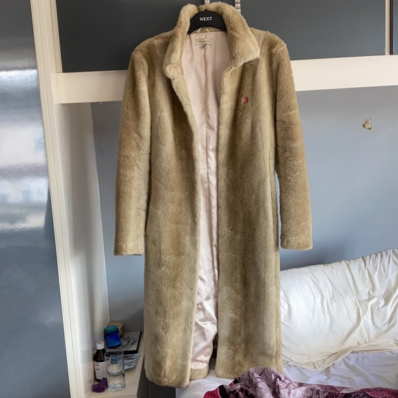 John Rocha F fur coat