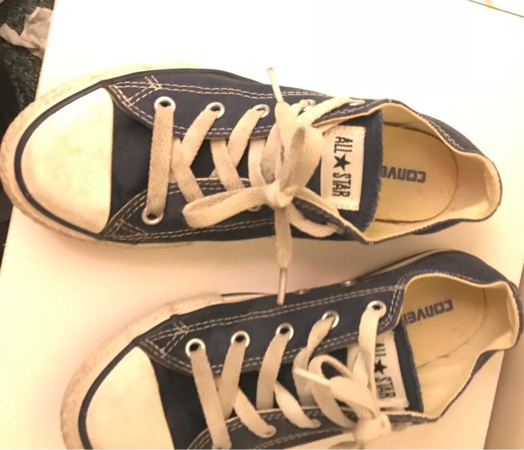 Boys genuine converse sneakers