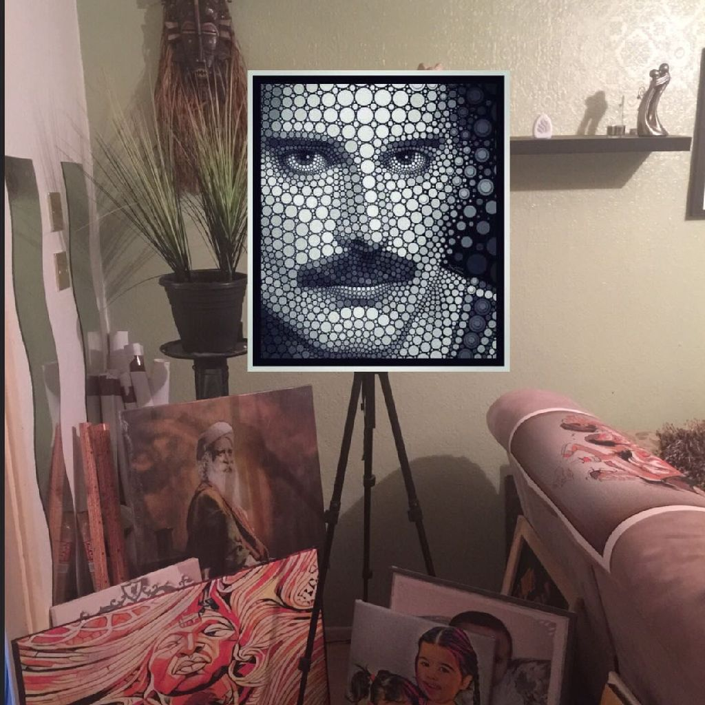 Freddie Mercury 60cm x 80cm wall art canvas ready to hang gallery wrapped