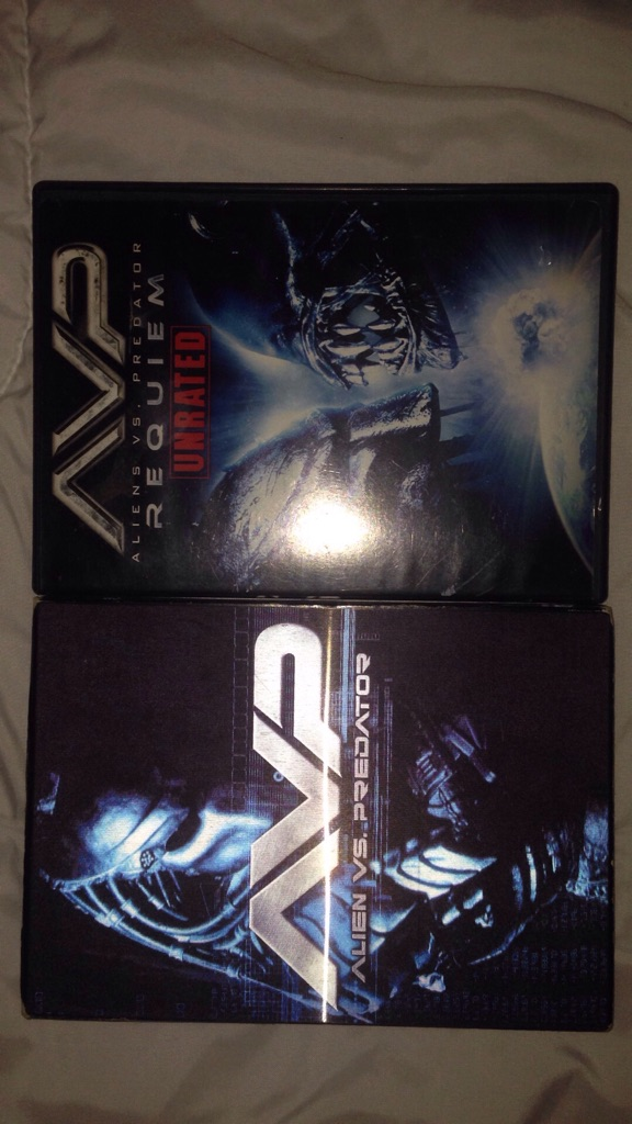 AVP: Alien vs. Predator (DVD, 2004, Widescreen Edition)/AVP: Aliens vs. Predator: Requiem (Unrated)