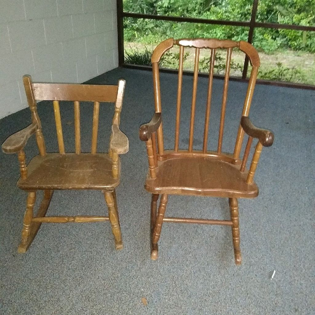 Kids rocking chairs