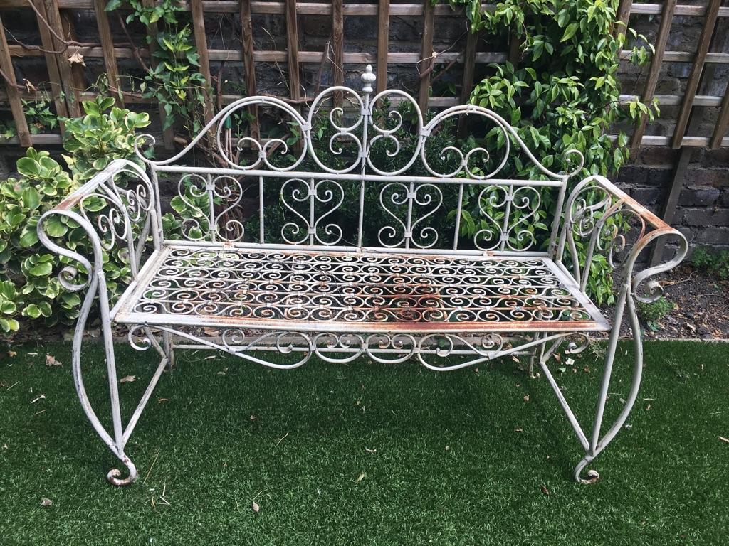 Garden vintage bench