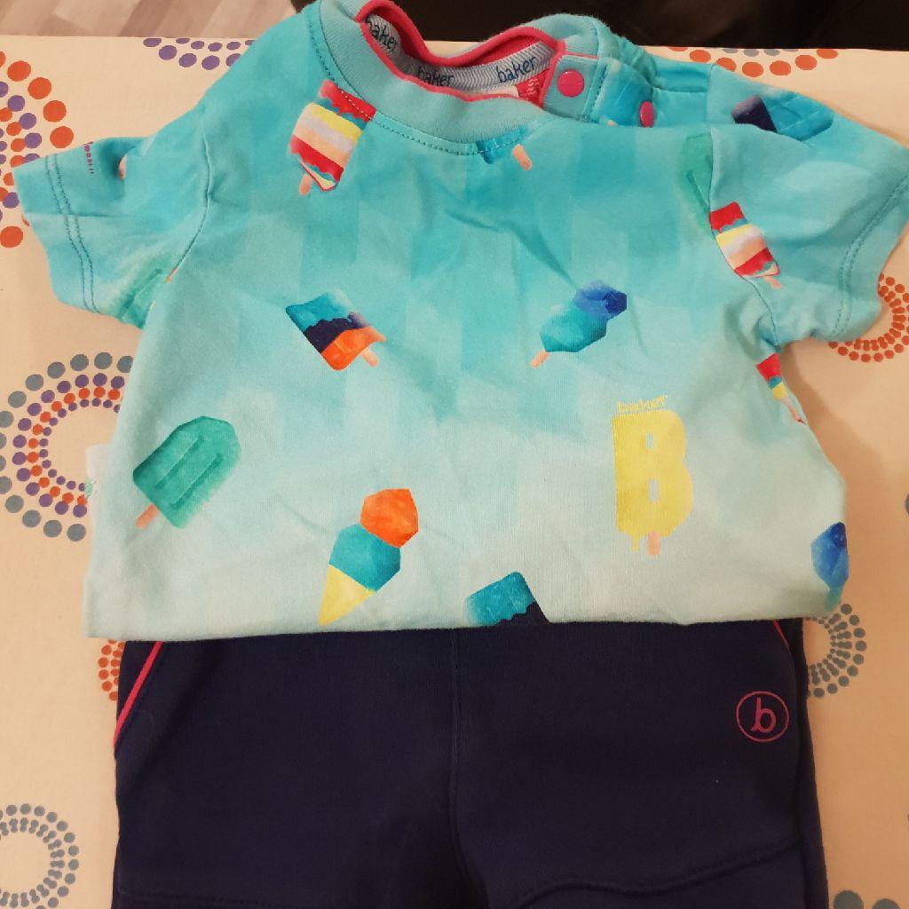 Ted Baker shorts and t-shirt set