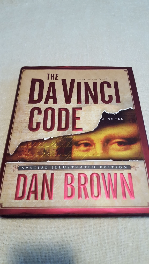 The Da Vinci Code By Dan Brown special Illustrated Edition & first edition 2004