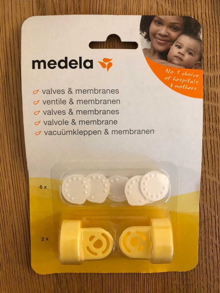 Medea swing maxi double electric breast pump only (used) and Medela valves & membranes (new)