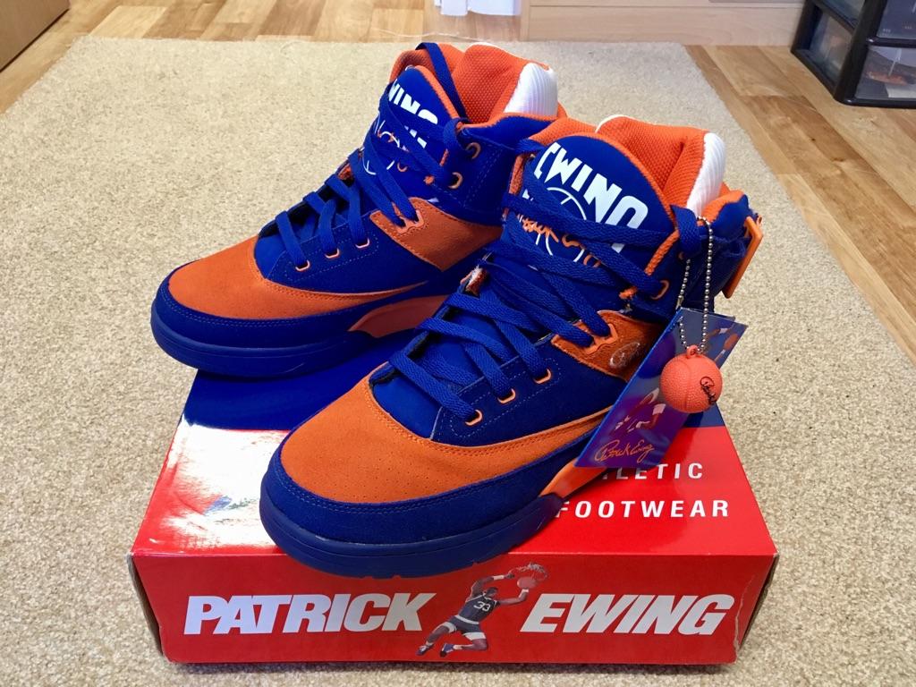 Ewing 33 high basket ball boots 8.5 uk