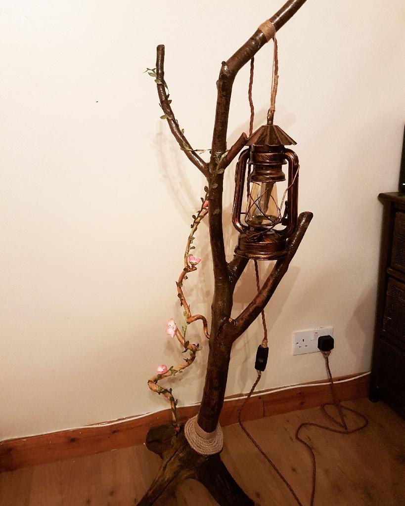 Rustic desk lamps