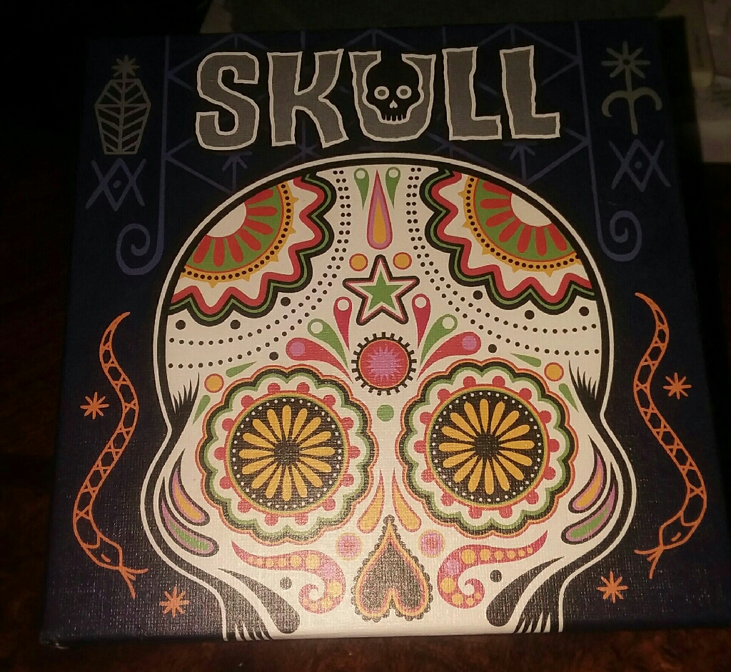 Never Used Skull Game