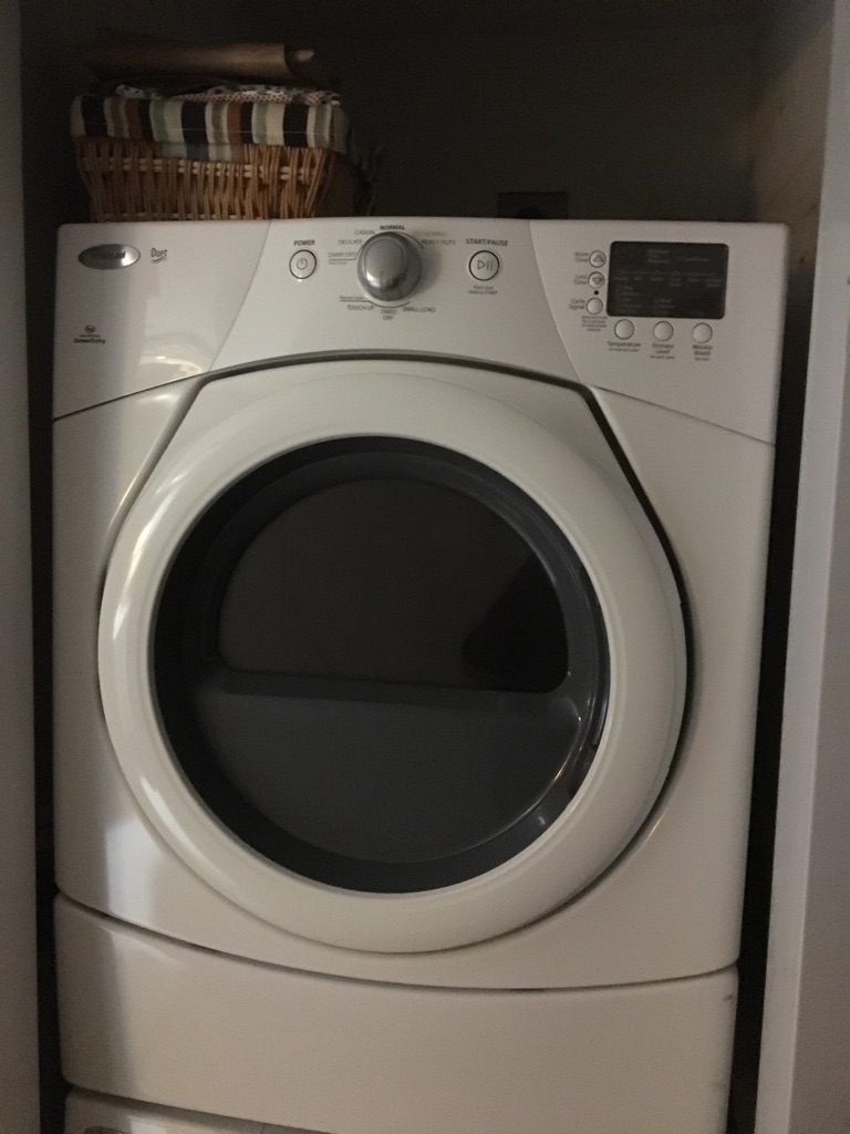 Whirlpool Duet 3.5 electric dryer