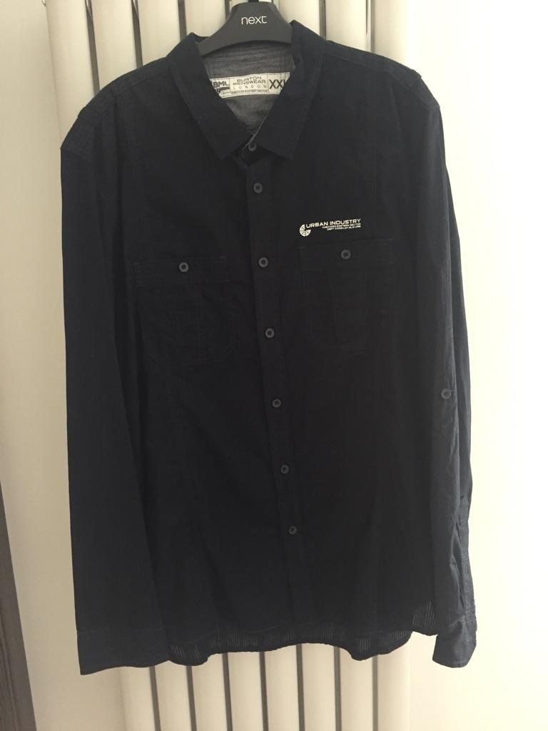 Burton menswear Black Shirt Size 2XL