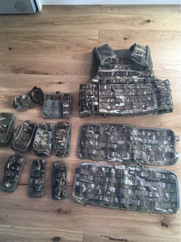Osprey Mk4 Body Armour System - Grade 1 Condition.