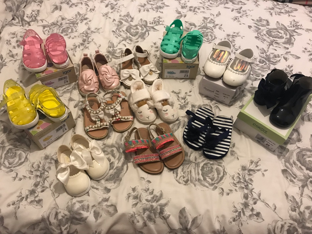 Girls shoes bundle size 5-7