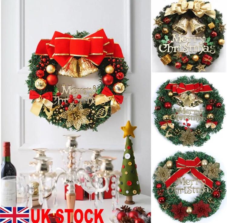 Christmas decoration door