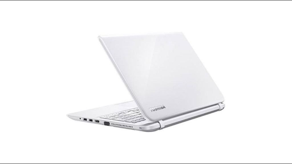 "Toshiba Satellite L50-B-1QV, 15.6"" Laptop, Intel Core i5, 6GB RAM, 1TB, 2GB Graphics - White"