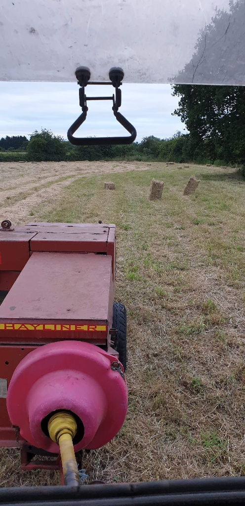 This years hay bales
