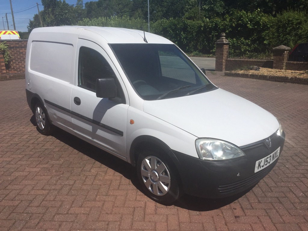 **SOLD** 2003 Vauxhall Combo 1.7di