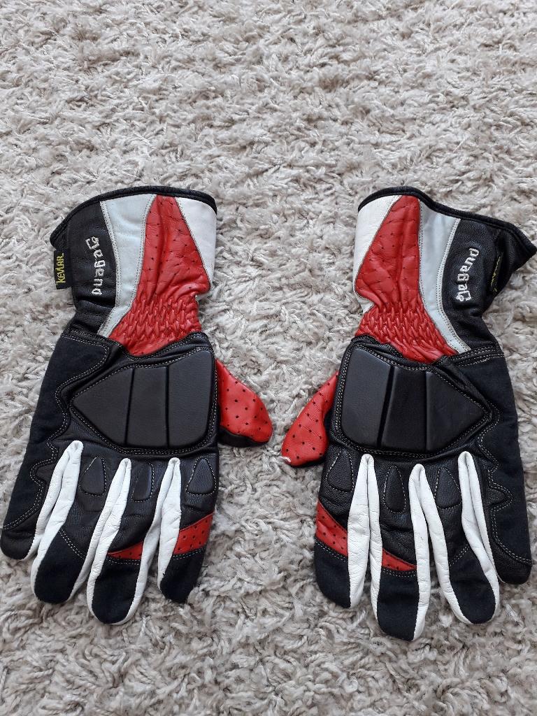 Legend - Mens leather bike gloves