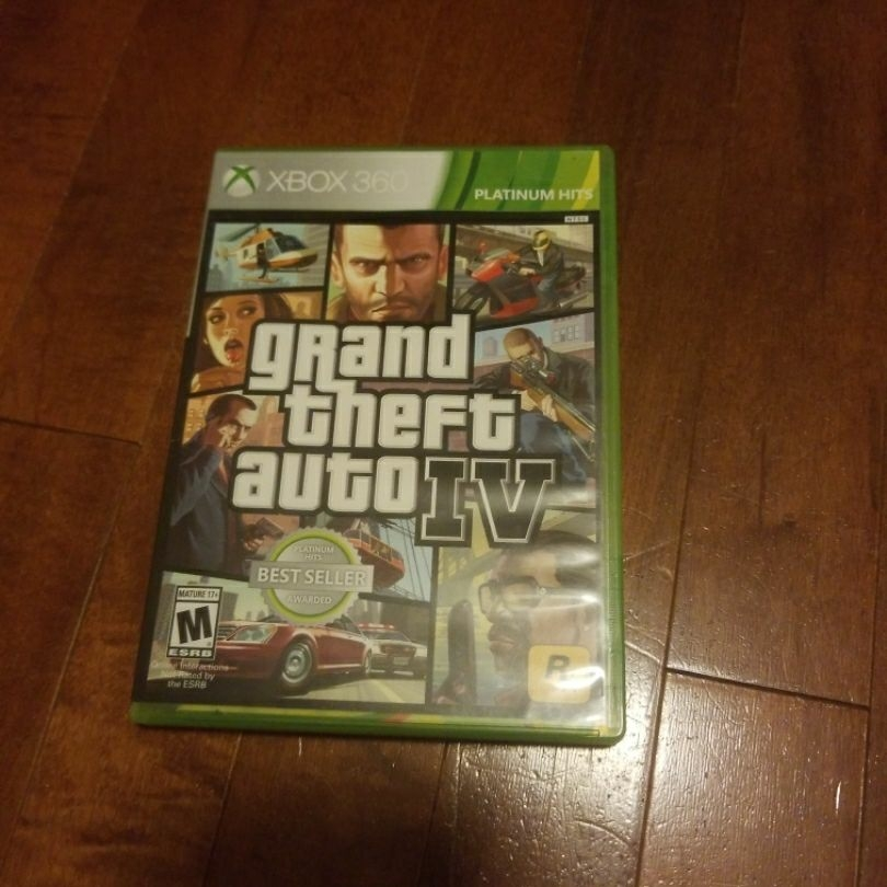 Xbox 360 grand theft auto 4