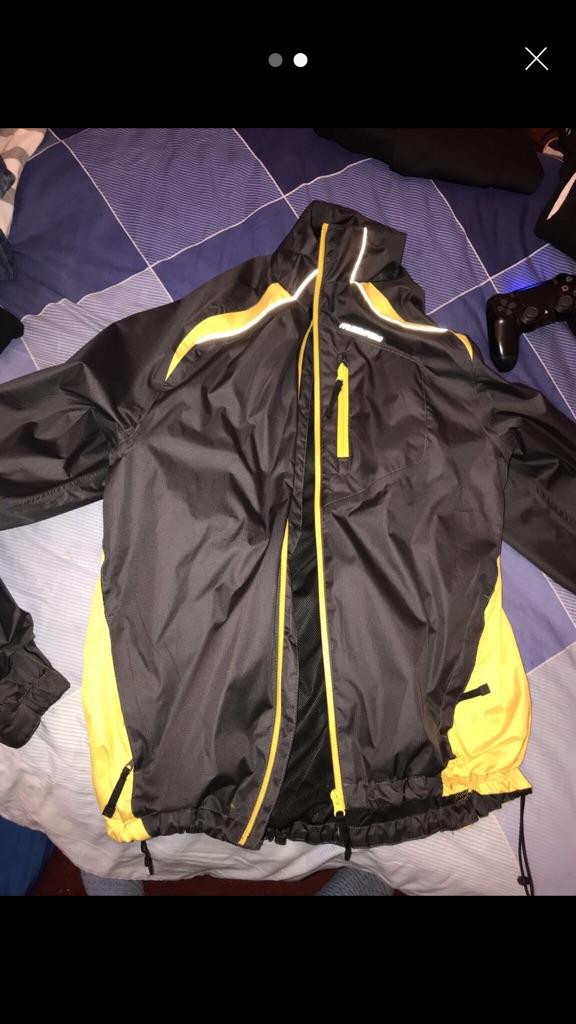Cycling jacket and pants