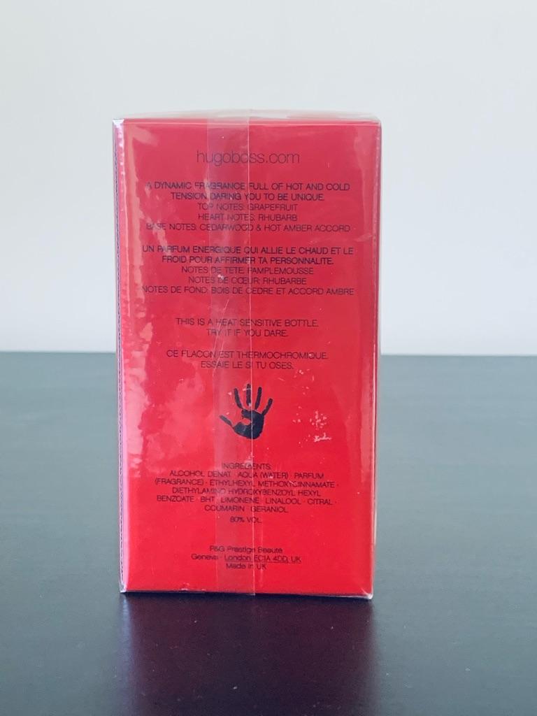 HUGO BOSS Red Eau de Toilette Spray 75ml