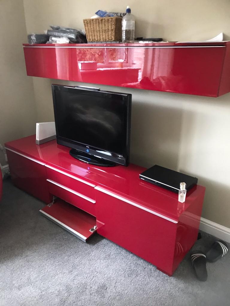 Ikea red unit