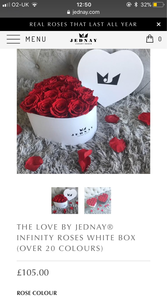 Jednay infinity roses