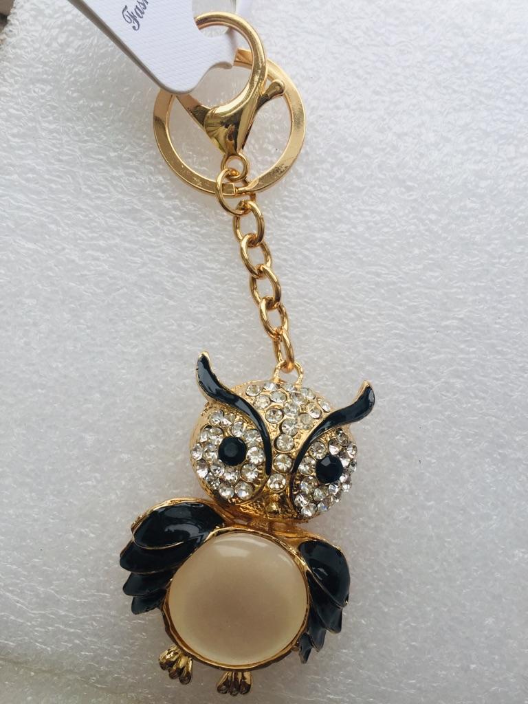 Keys ring holder with owl ***** 1