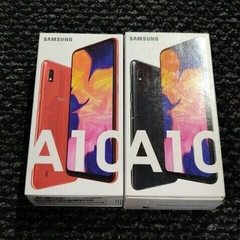 Samsung Galaxy A10 black 32GB unlocked brand new sealed