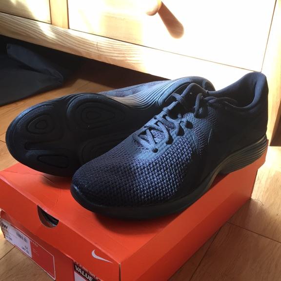 Unused Black Nike Trainers Size 12 (Revolution) - Never Worn