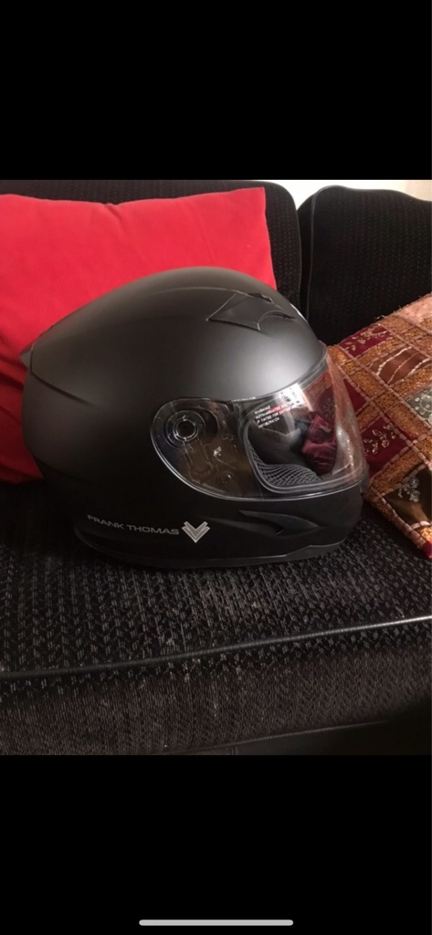 Frank Thomas motorcycle helmet