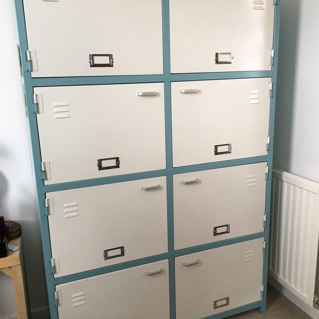 Metal locker storage