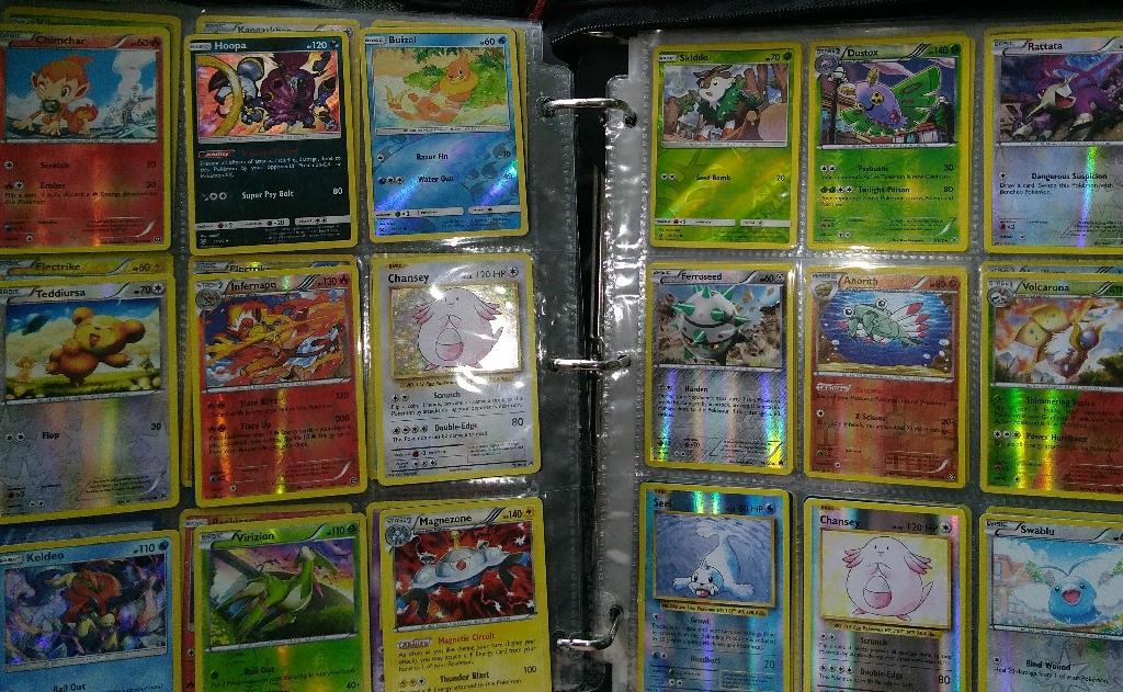 Halo graphic pokemon cards