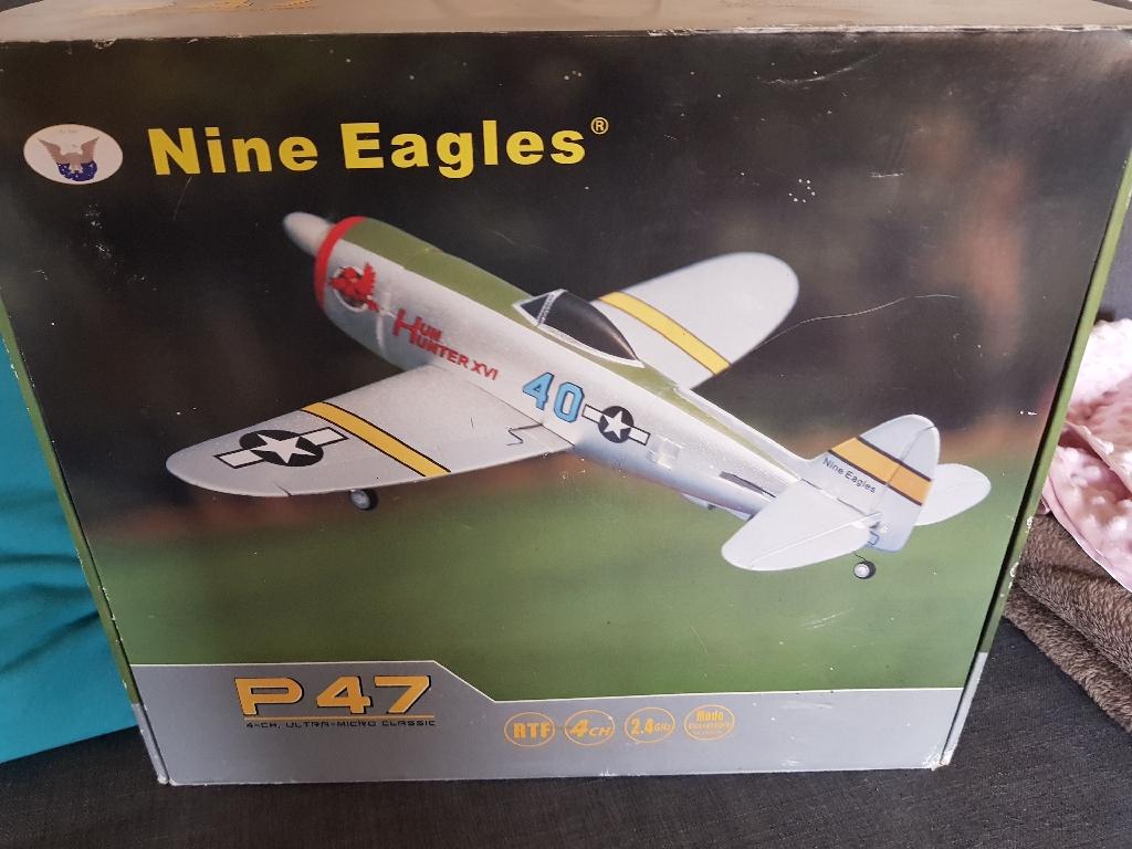 Nine Eagles remote control plane