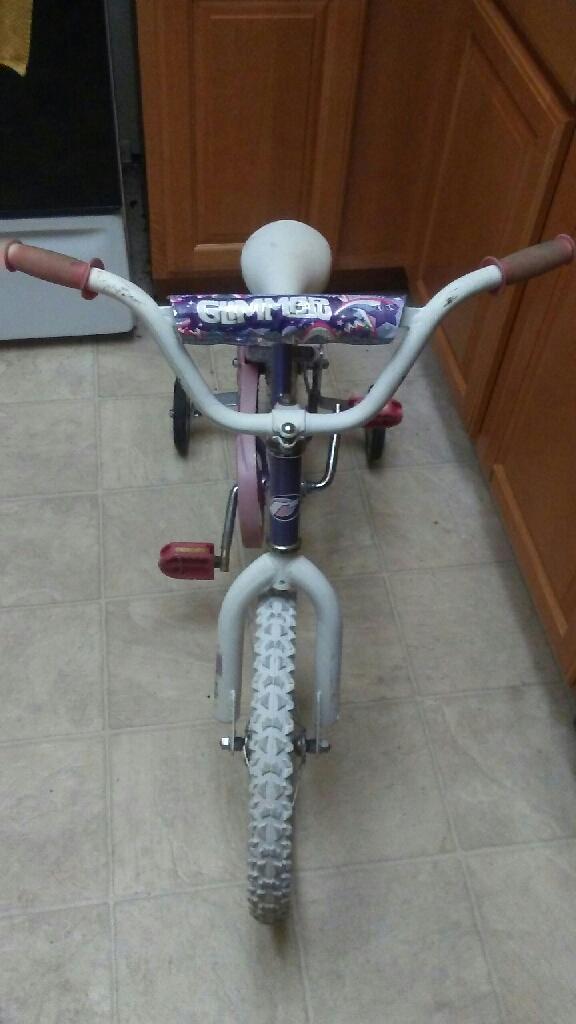 Kids training bike