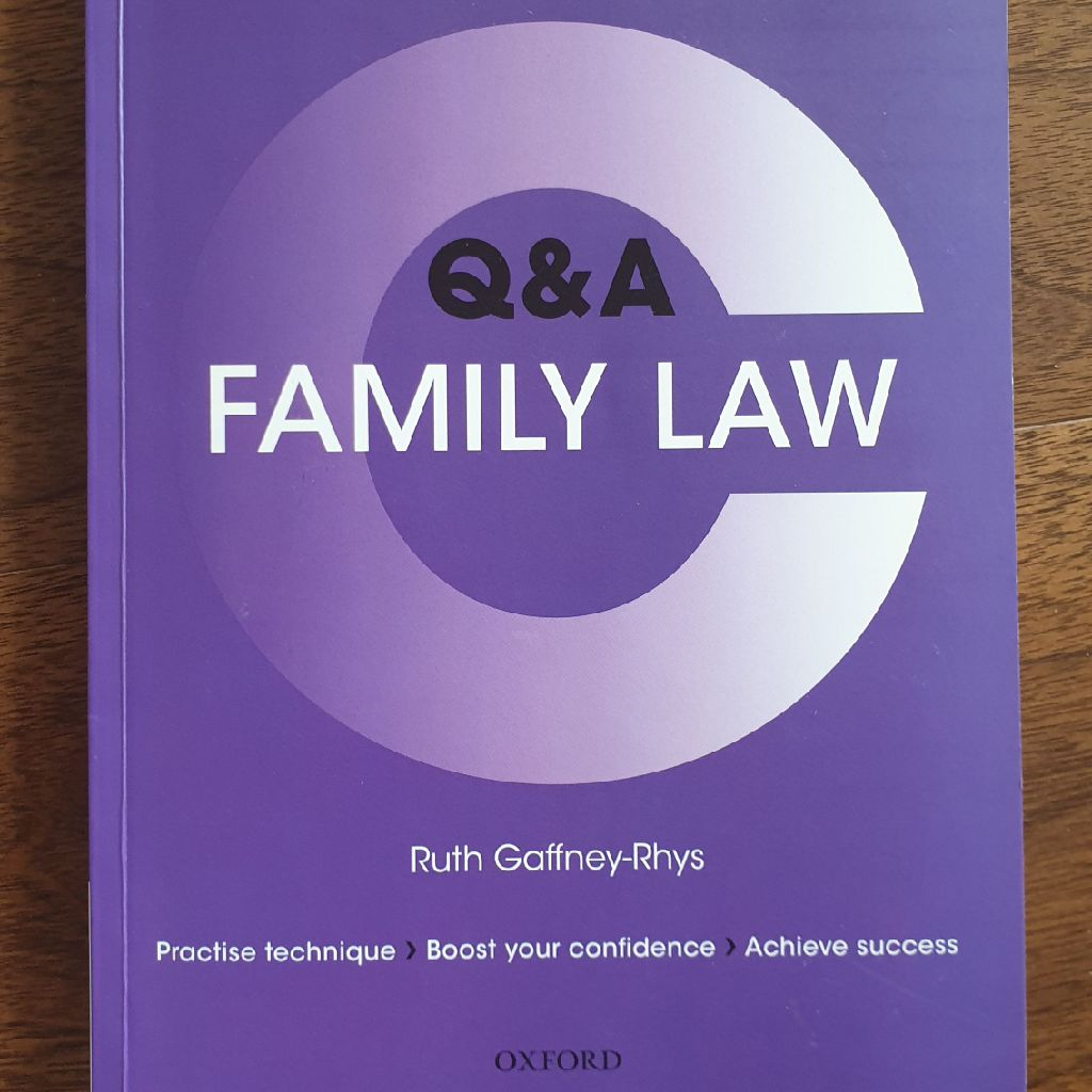 Family Law Revision guides by Gaffney R.