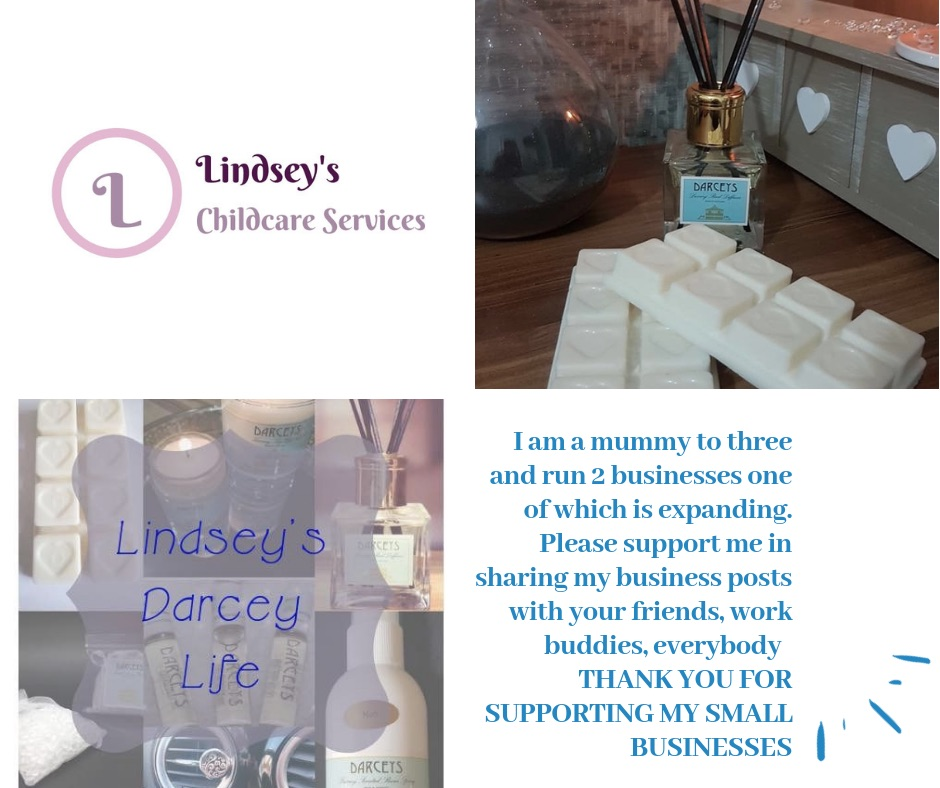 Childcare and Soy wax melts, candles