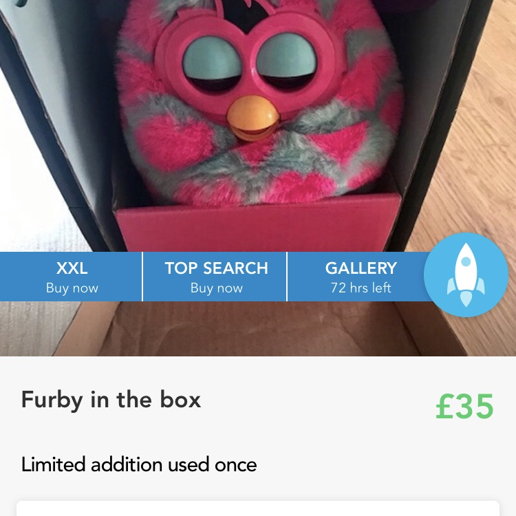 Limited addition furby still available