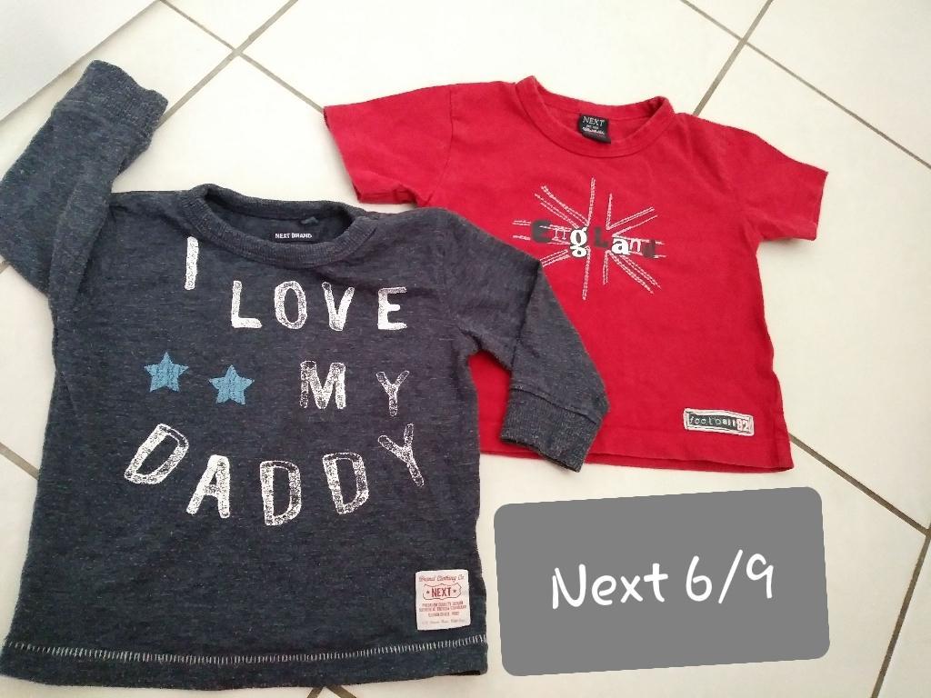 Baby boys Next bundle