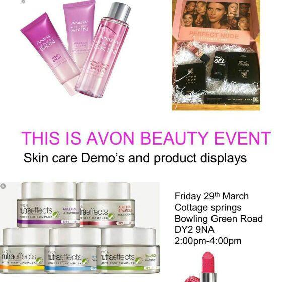 Avon event afternoon 😊😊😊😊