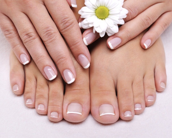 Manicure and pedicure gel polish