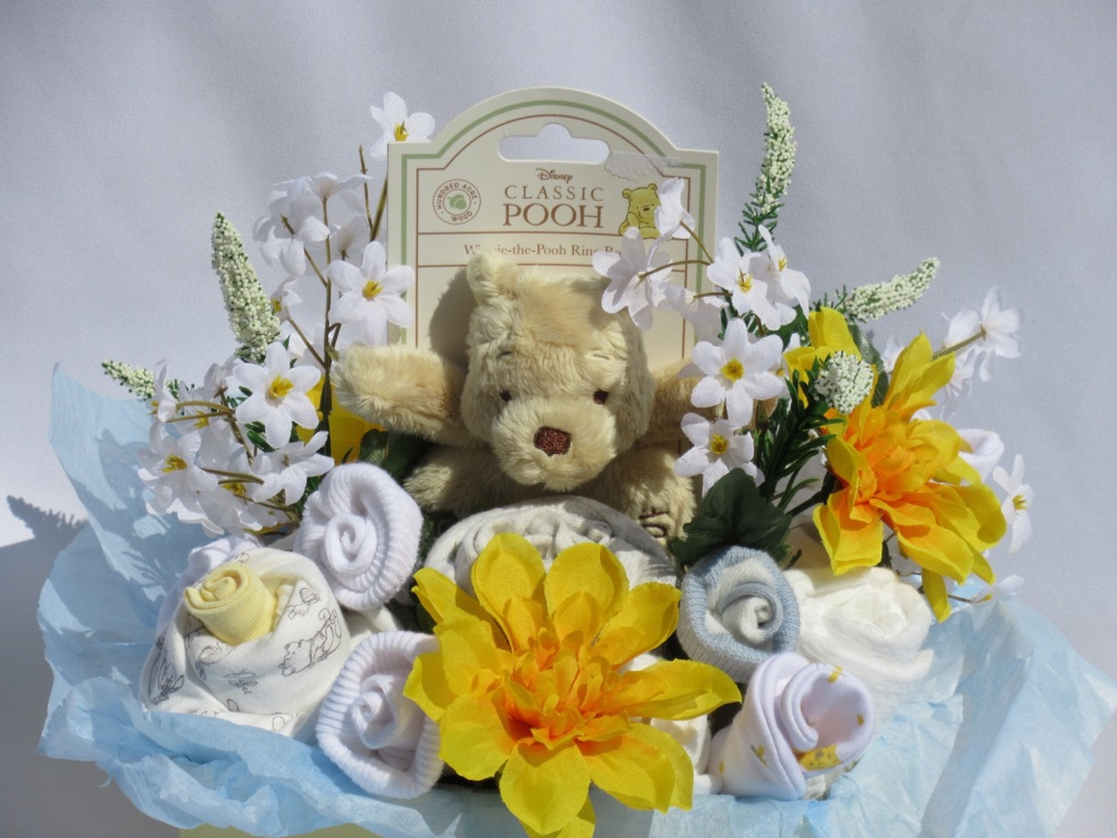 Winnie the Pooh baby bouquet