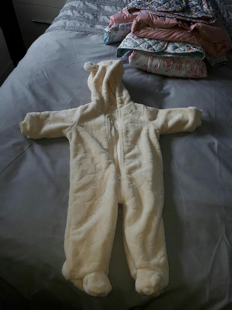 baby snow/pram suit