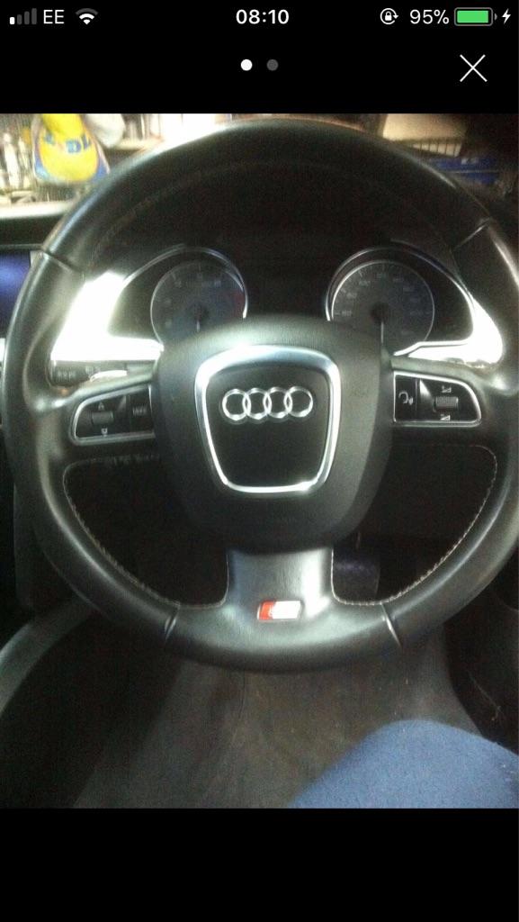 Audi s5 steering wheel