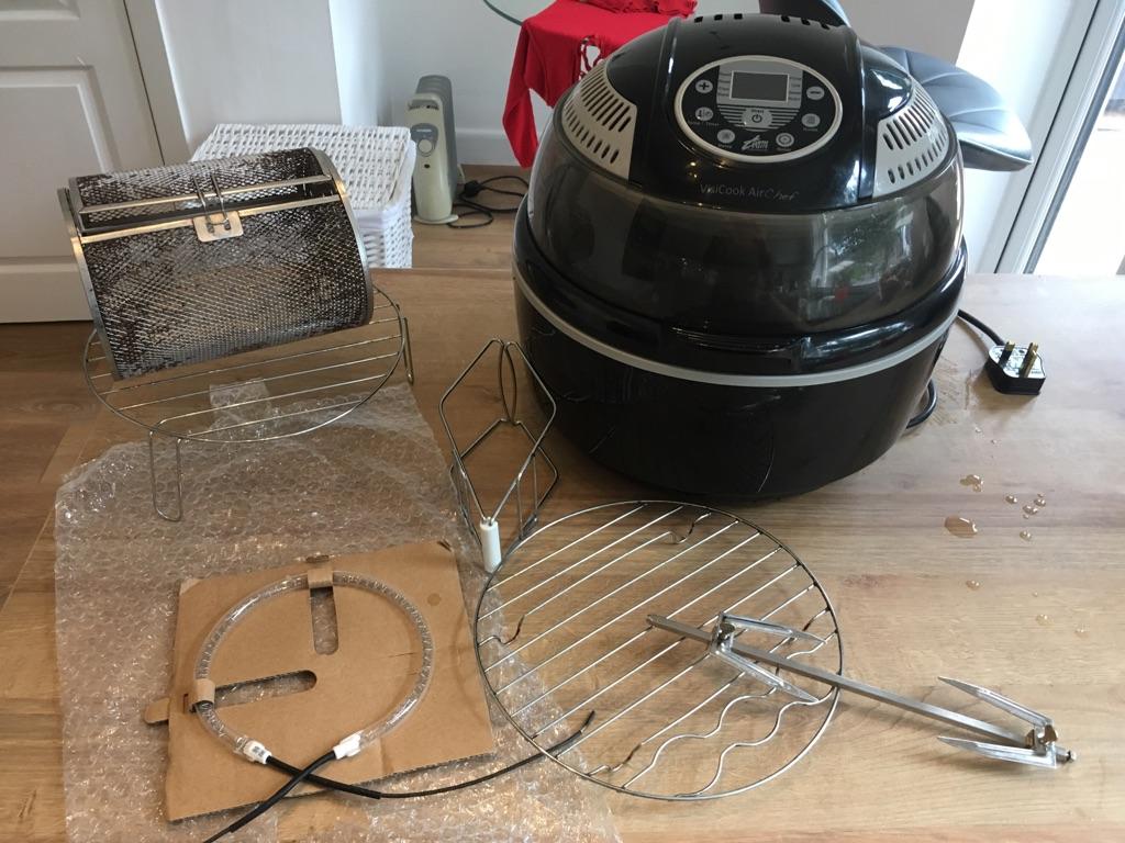 Halogen oven/air fryer