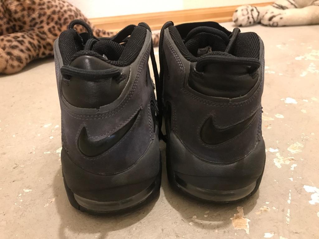Nike Air More Tempo Black/Black Anthracite