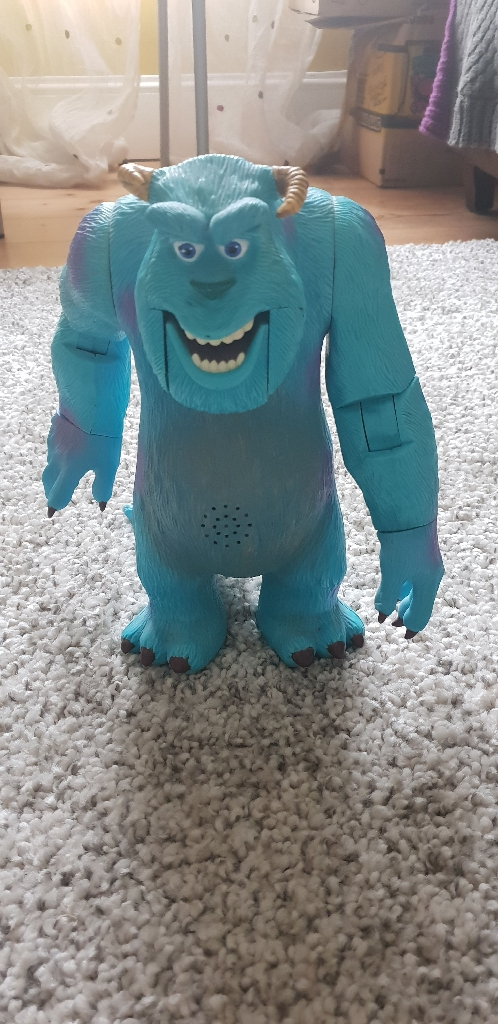 Talking Sully Monsters Inc 2001