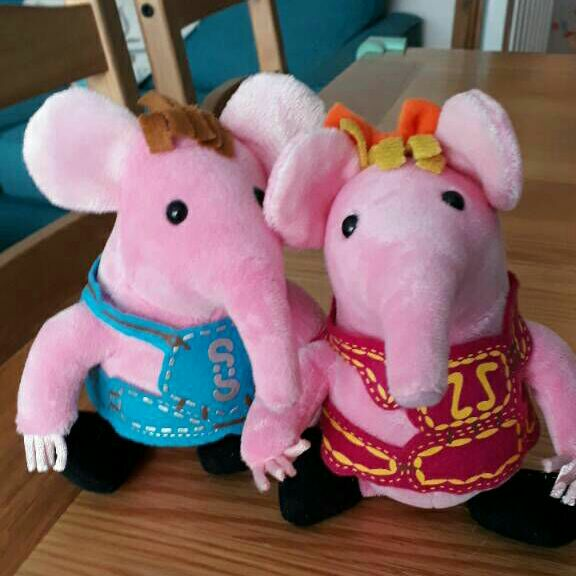 Clangers toys