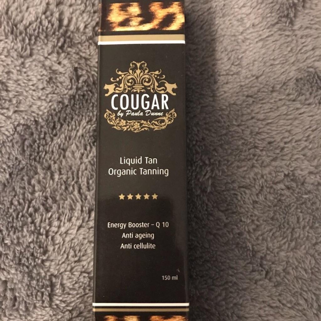 Cougar fake tan