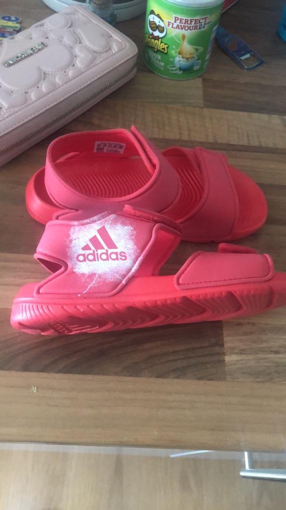 Adidas Girls Swim Shoes size 12
