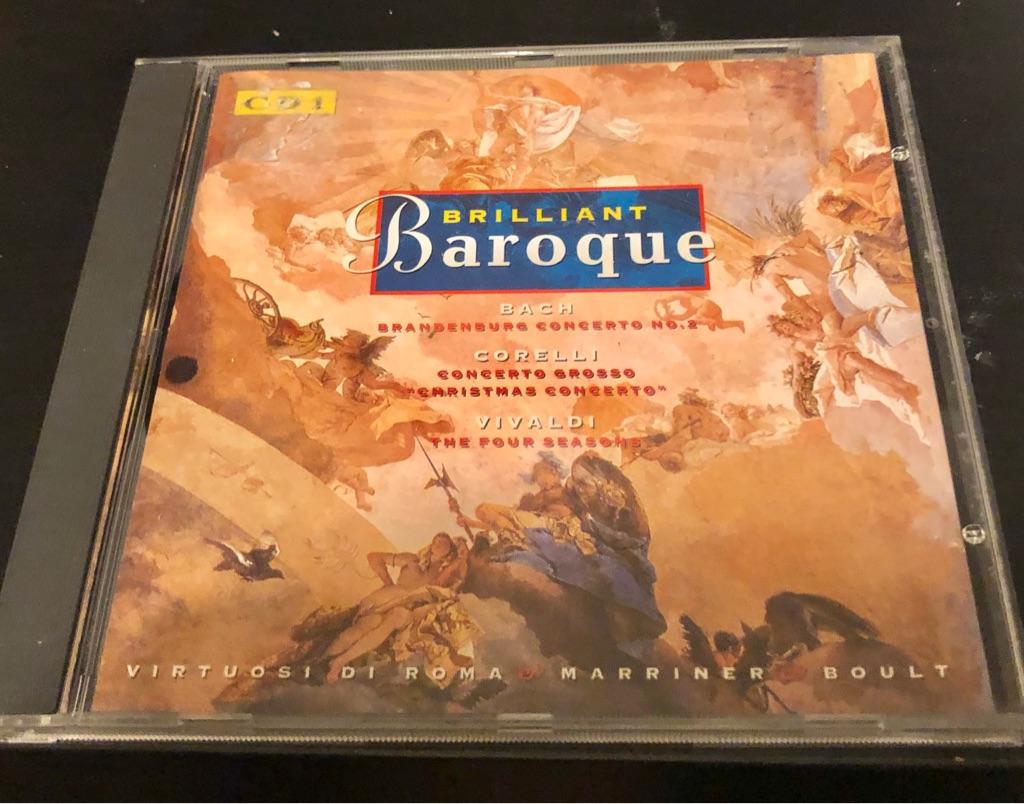 BRILLIANT BAROQUE CD